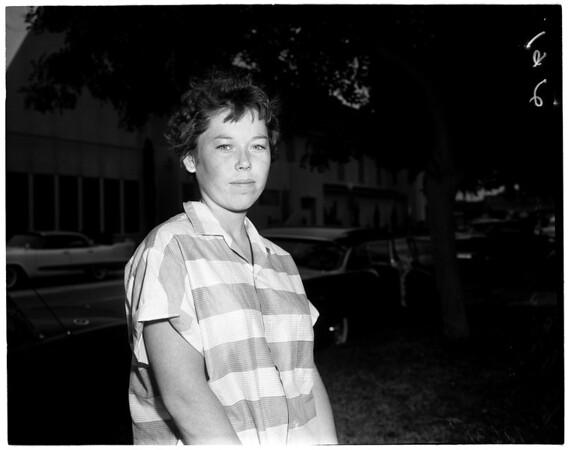 4 in family dead in South Gate fire, 1959