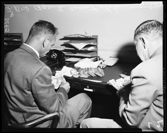 Norwalk bank robbery, 1958