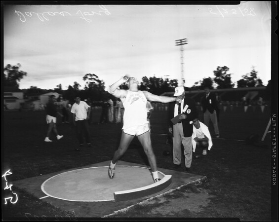 Track -- Occidental invitational, 1958