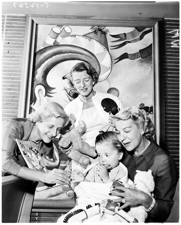 California Babies and Children's Hospital, 1958