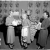 Pasadena Home for the Aged -- Auxiliary Tea, 1957