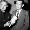 Burglary charge, 1958