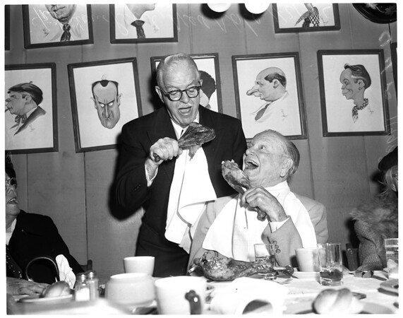 Friars' Thanksgiving, 1956