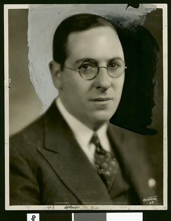 Rabbi Edgar F. Magnin, ca. 1929