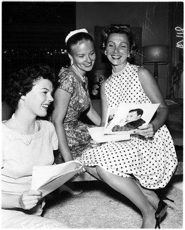 Cedars of Lebanon premiere (planning), 1958