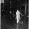 Rain pictures at 8th and Hill, 1952