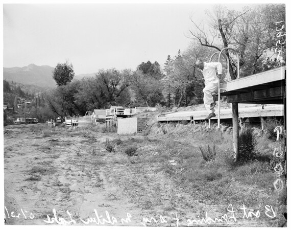 Rainmaker at Malibu Mt. Club, 1961