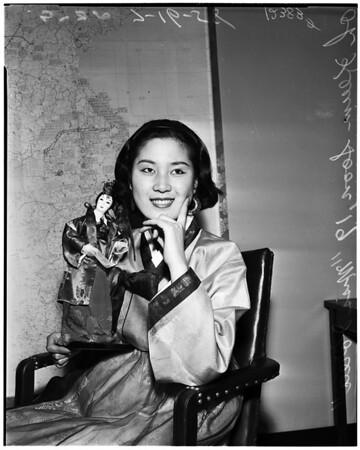 [Miss] Universe contest, 1958