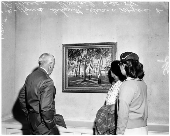 Churchill's paintings, 1958