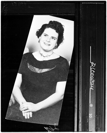 Hammer murder at 13625 Y ukon Avenue in Lennox, 1958