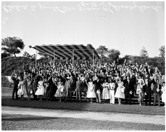 """Salute to Youth"" program at Disneyland, 1958"