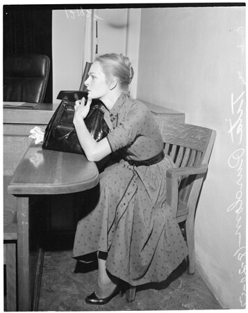 Attorney suing for money for handling divorce, 1957