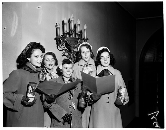 Christmas at Immaculate Heart, 1953