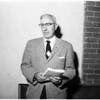 Methodist church conference, 1958
