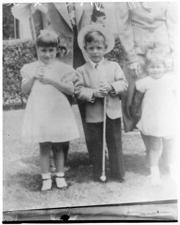 Missing boy, 1952