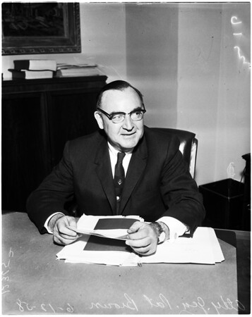 Brown press conference, 1958