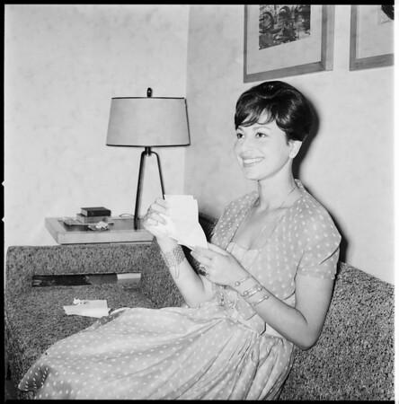 Haya Haraeet, Jewish singer-actress, 1959