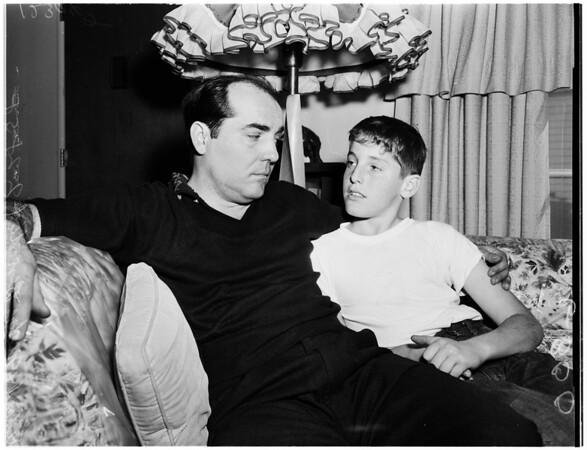 Benedict slugged by Aragon, 1958.