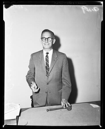 Democratic County Chairman, 1958