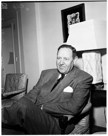 Packard car executive interview, 1952