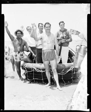 """Raft """"Lehi the Fourth"""", 1958"""