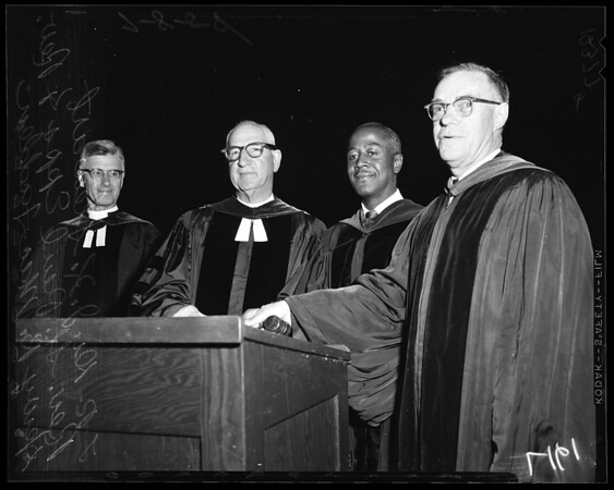 Presbyterian Church convention, 1958