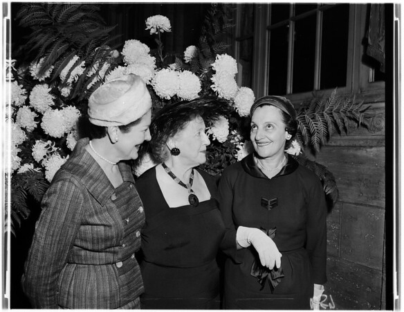 Opera Guild -- Luncheon, 1957