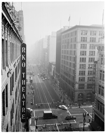 Weather (smog downtown), 1952