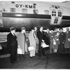 Polar flight to Scandinavia, 1952