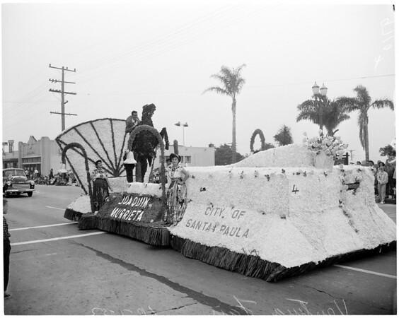 Ventura Fair opens with parade, 1952