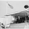 John Sparkman in Long Beach, 1952