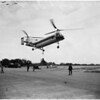 Helicopter demonstration, 1958