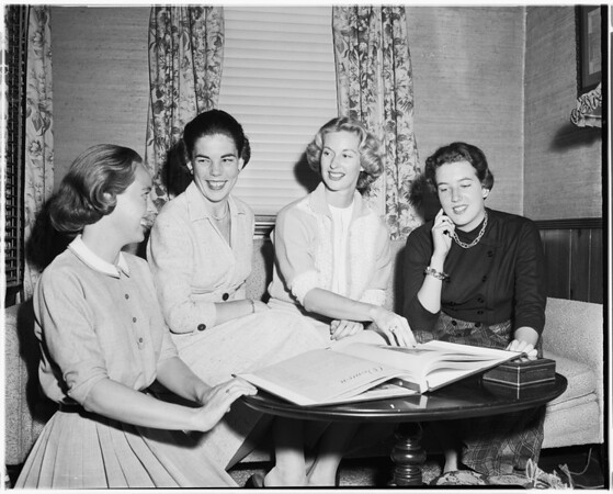 Spinsters -- New Officers, 1957
