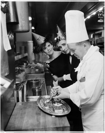 Los Angeles Athletic Club Halloween Party, 1957