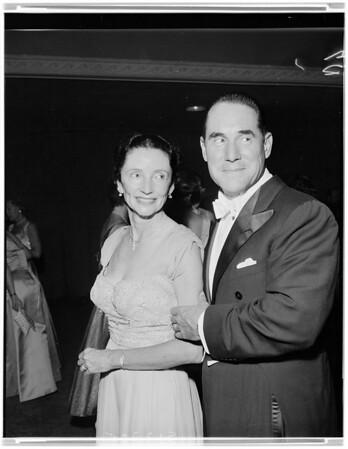 Los Angeles Supper Club -- Fall Dance, 1957