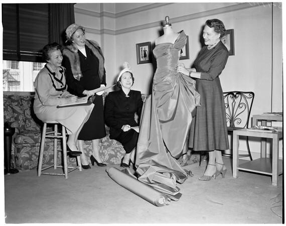 Claremont Men's College Mother's Club, 1953