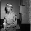 "Models uniform of Army's newly ""Glamorized Infantry"" (Camp Roberts), 1952"