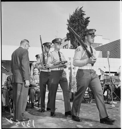 County Employees Association building dedication, 1961