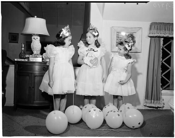 Valentine Ball for Bel Air Bay Club, 1953