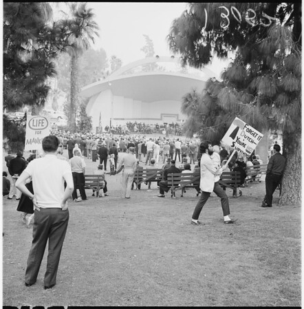 Veterans Day at MacArthur Park, 1961