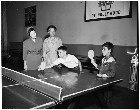 Assistance League, 1953