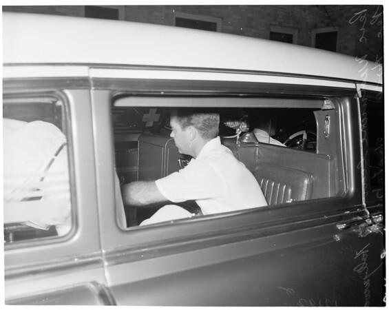 Suicide attempt, 1957