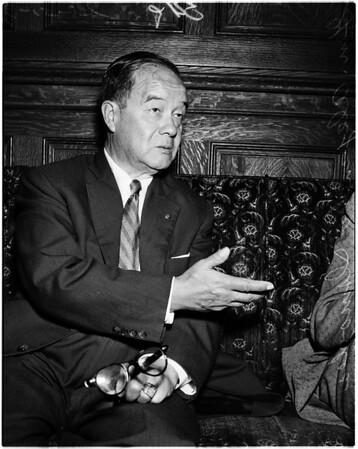 Peruvian interview at Biltmore, 1958