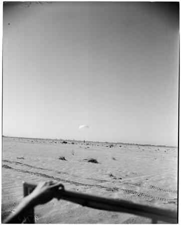 Parachutes (negatives taken for Julian Hartt), 1952
