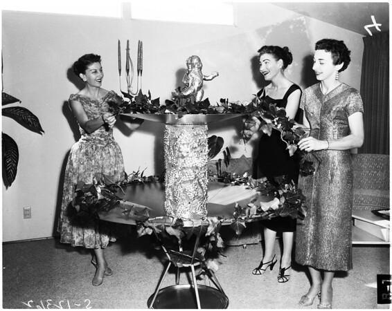 "San Pedro Junior Women's Club ""Garden of Jewels"" ball, 1958"