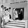 Judge Ida May Adams marriage mill, 1958