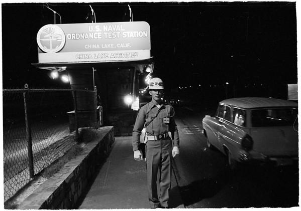 Naval Station at China Lake, 1961