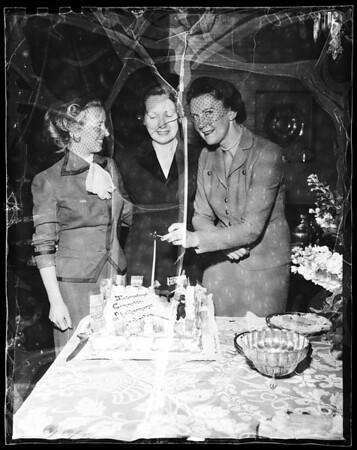 Mrs. Walter Danielson, 1953