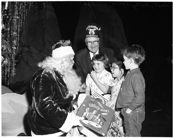 Shrine Christmas Party, 1955