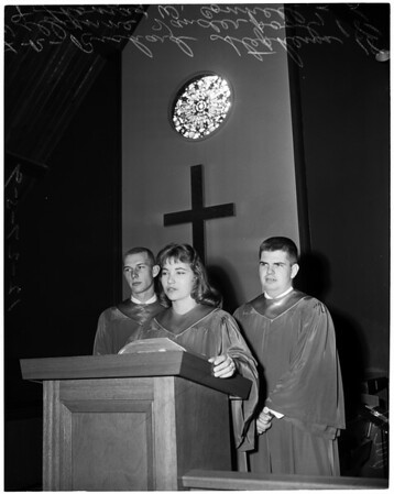St. Paul's Student Recognition Day, 1959